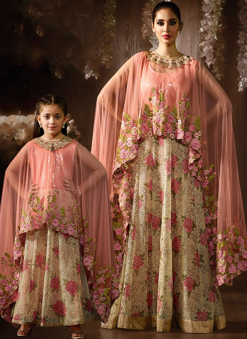crafty-peach-shimmer-jacquard-mother-daughter-anarkali-suit.jpg