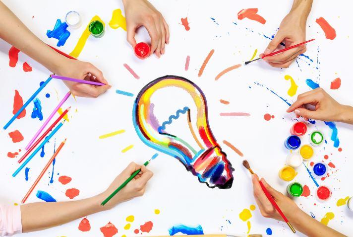 Team creative work